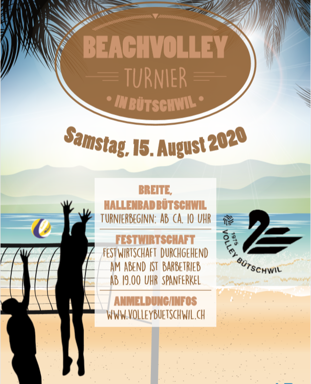 Beachvolley Turnier 2020